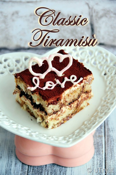 Classic Tiramisù – For Valentine's Day  http://uTry.it