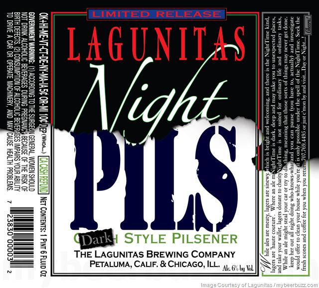 Lagunitas Adding Night Pils Bottles