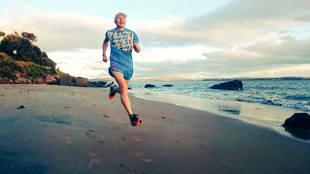Beach run Hobart 2014
