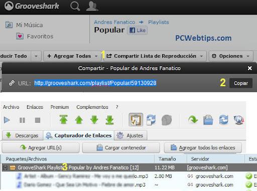 jDownloader-Grooveshark