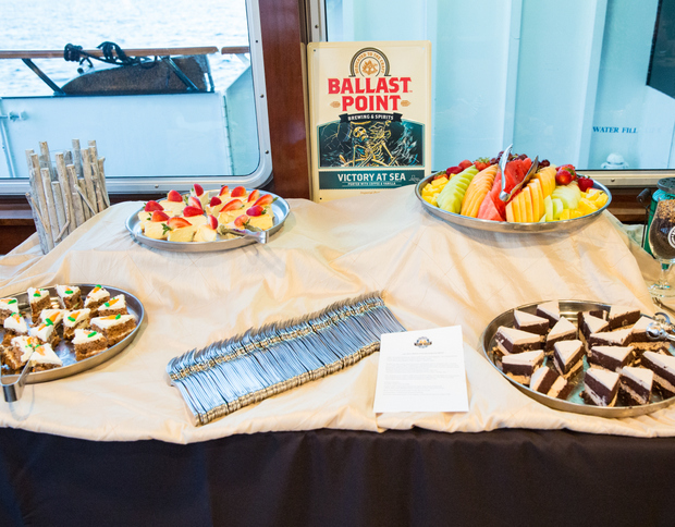 photo of a table with desserts