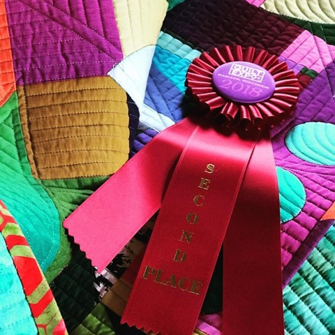 quilt expo ribbon