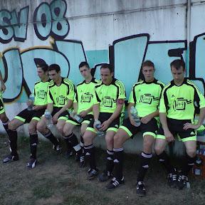 25.07.2008 Vorbereitung Spiel in Ludweiler gegen Großrosseln