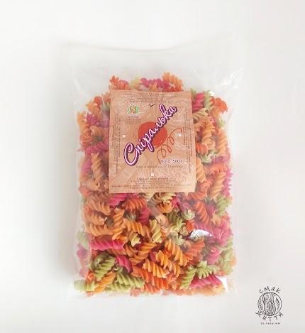 Спіральки Овочевий мікс