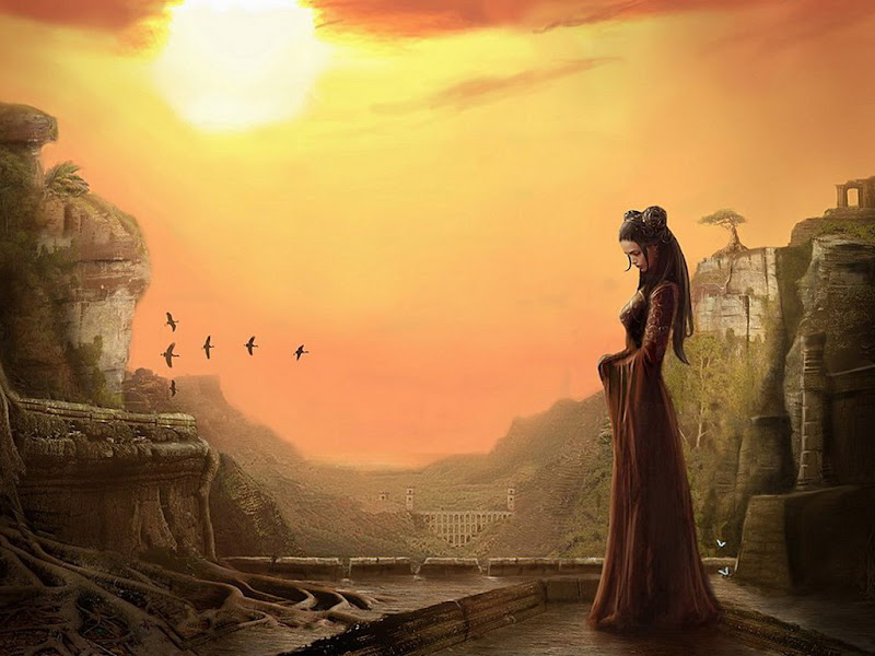 Princess In The Ancient Castle, Magic Beauties 1