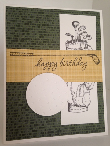 Creativeseconds Happy Birthday Golf Themed Mojo Jpg 360x480 Theme Card