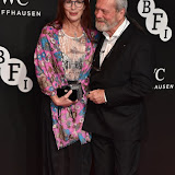 OIC - ENTSIMAGES.COM - Maggie Weston and Terry Gilliam at the  Luminous - BFI gala dinner & auction in London  6th October 2015 Photo Mobis Photos/OIC 0203 174 1069