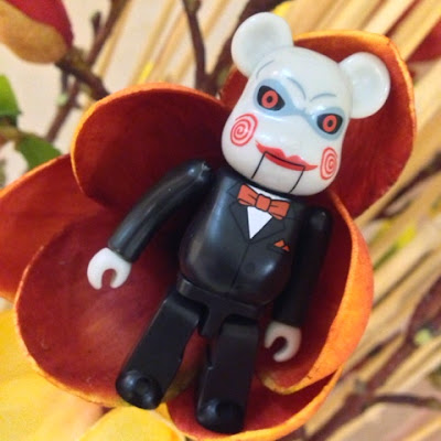 Jigsaw from bearbrick s horror series is our day 17 entry