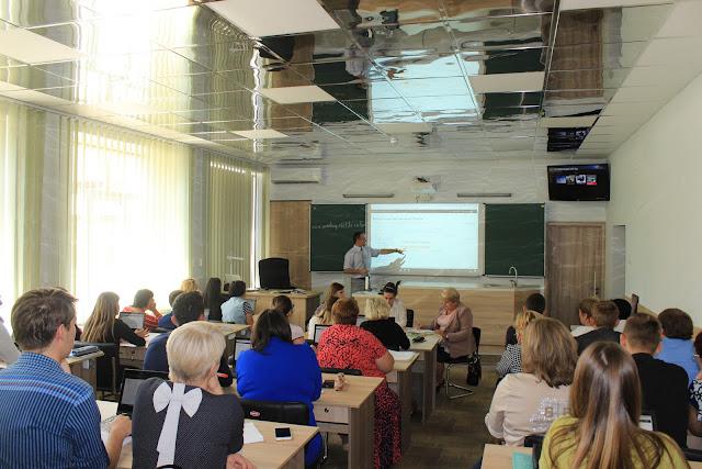 12.09.2018 семінар-практикум «Використання можливостей платформи Moodle при викладанні фізики у ЗНЗ»