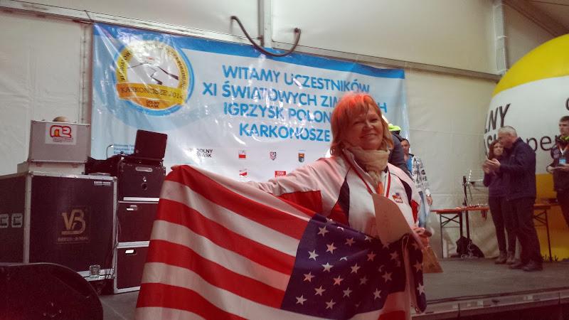 Krystyna Kacperczyk 2na złota Medalistka Nordic Walking