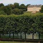 Le grand étang, le Vertugadin et le château Louis XV