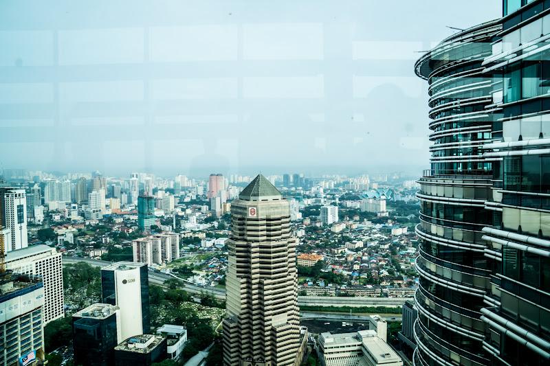 Twin Towers Skybridge view1