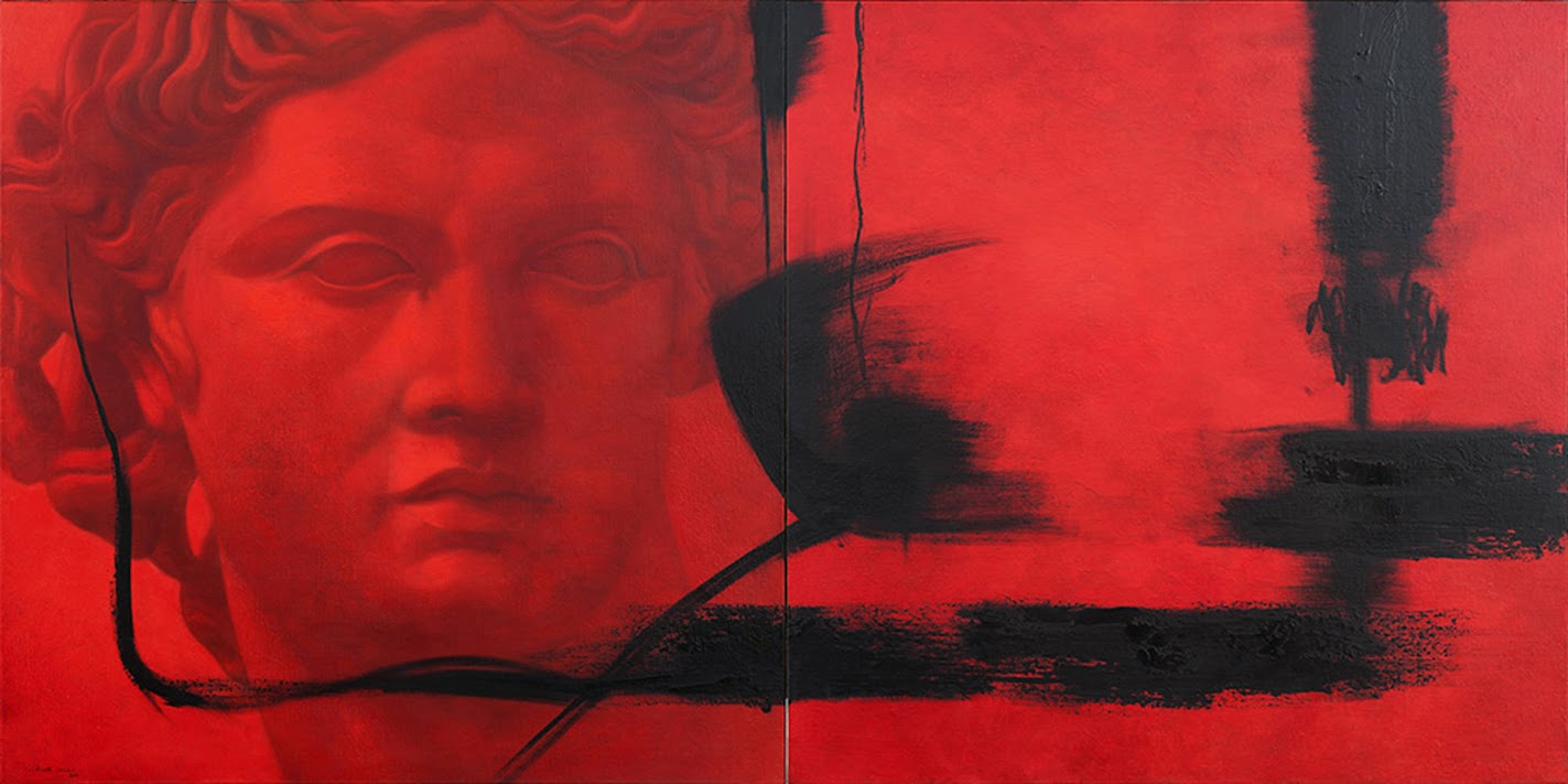 Pintura Controversias de Álvarez Cebrián