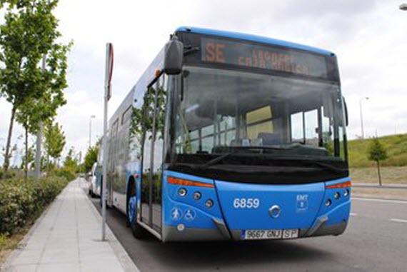Línea de autobús al estadio Wanda Metropolitano desde Metro Canillejas