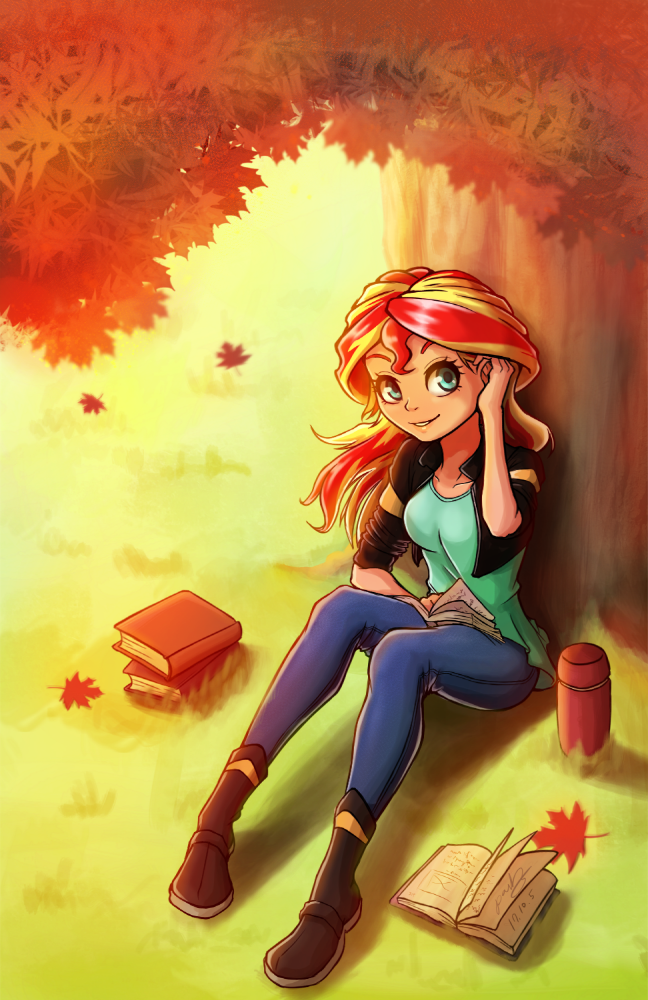 Commission12SunsetShimmerinautumnbyThePa
