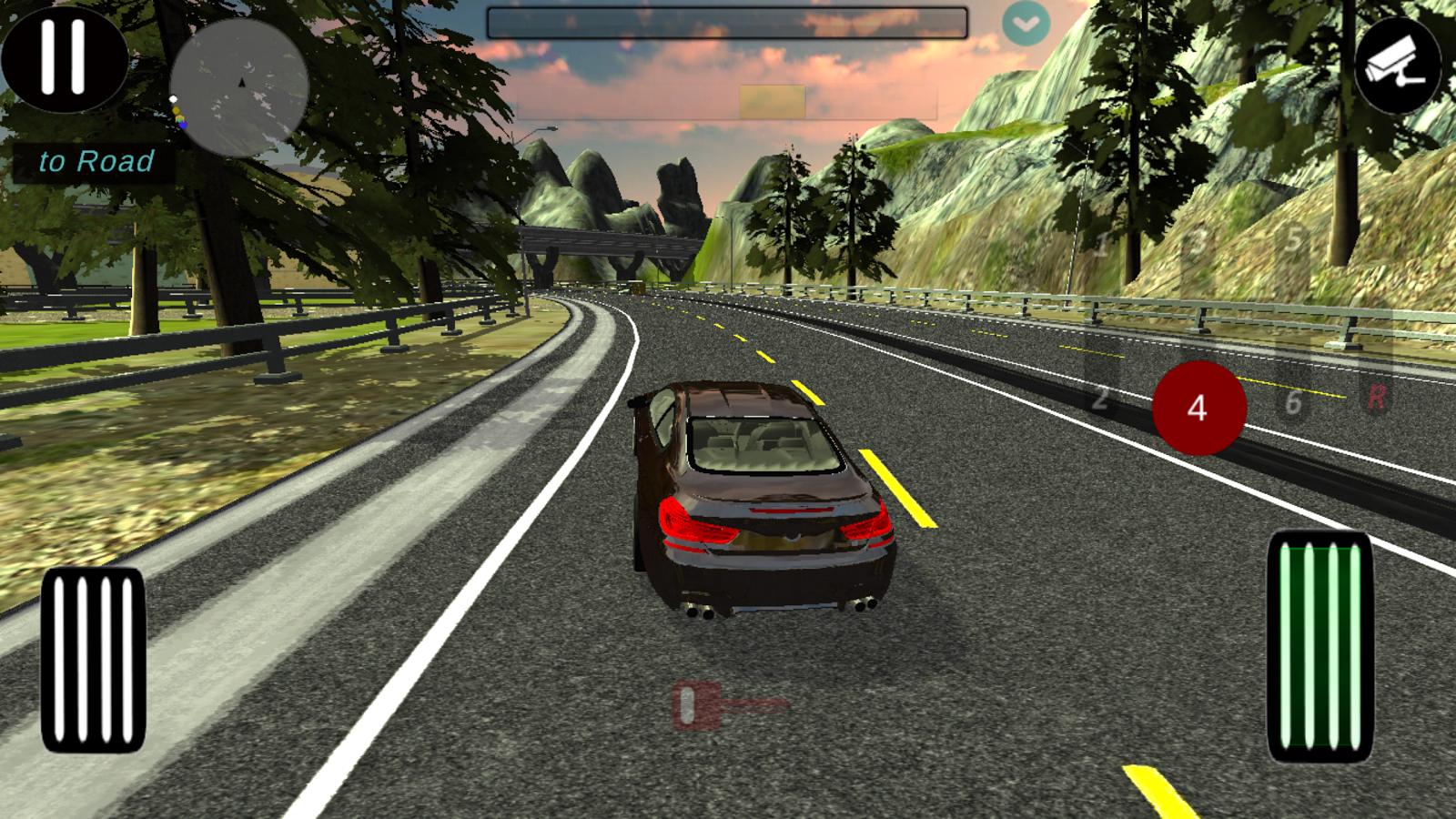 Manual gearbox Car parking- screenshot