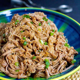 Slow Cooker Teriyaki Pulled Pork.