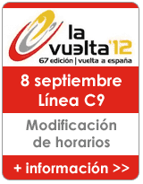 Servicio especial de Cercanías en la C-9 para acudir a la etapa 20 de la Vuelta Ciclista a España