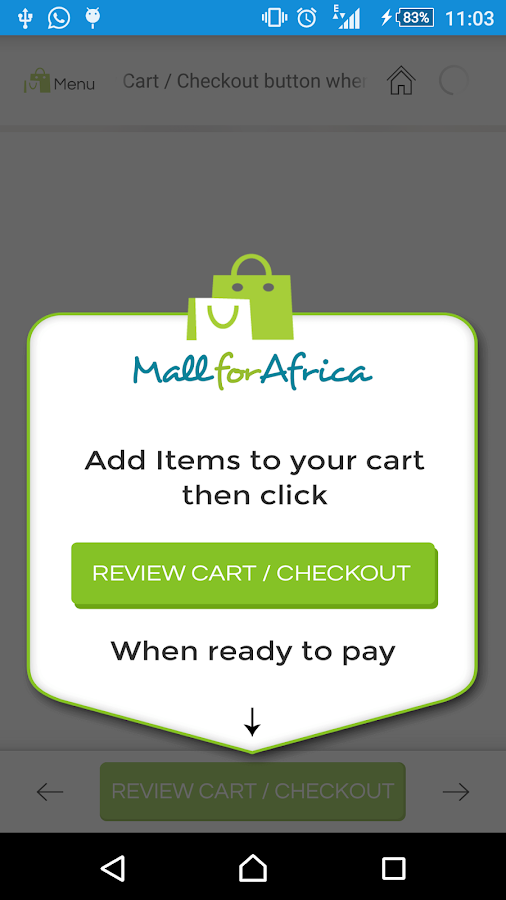 MallForAfrica- screenshot