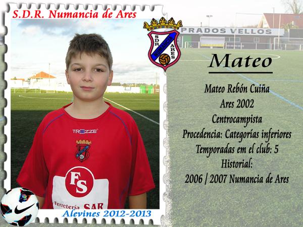 ADR Numancia de Ares. Mateo.