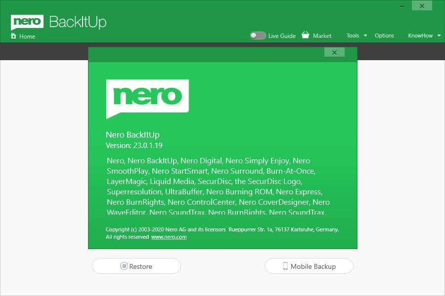 Nero BackItUp 2021 v23.0.1.19 + Patch