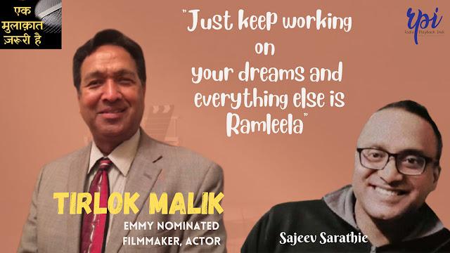 Emmy-nominated filmmaker Tirlok Malik