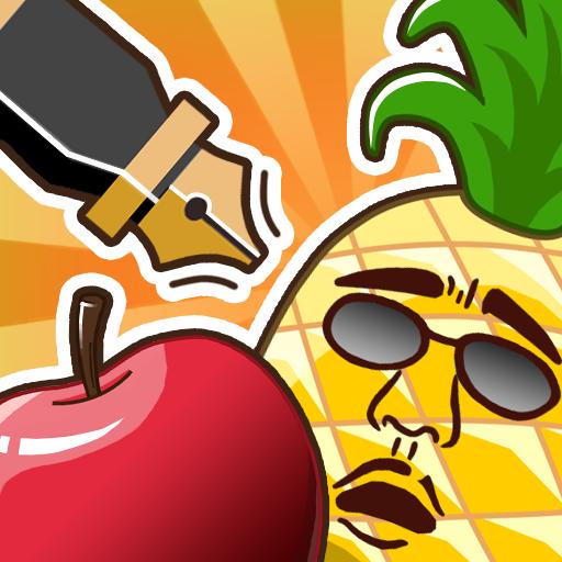 과일 찍기 - Pen Apple 動作 App LOGO-APP開箱王