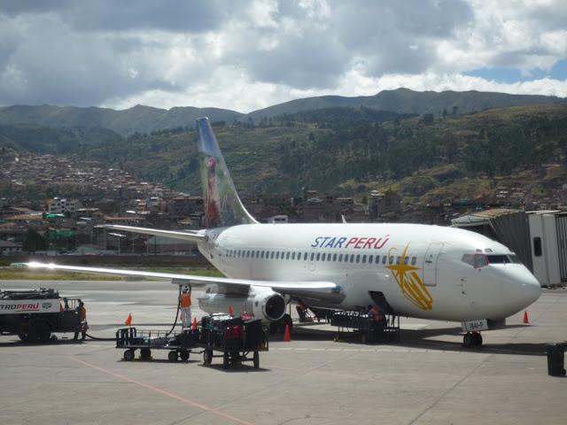 Avión de Star Perú
