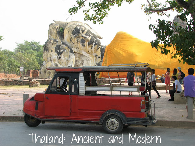 Thailand - a juxtaposition of ancient and modern