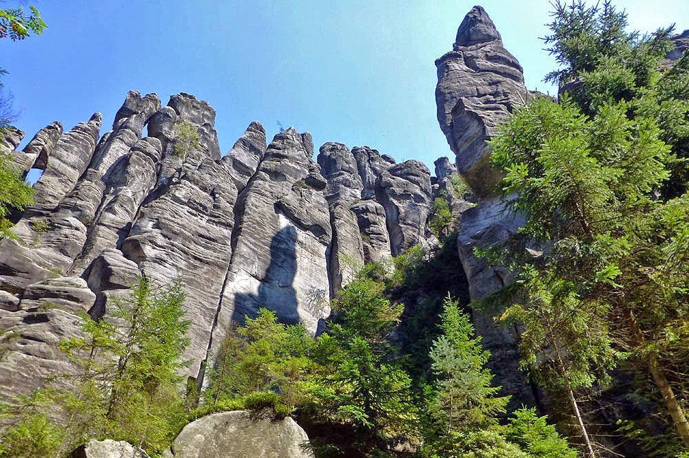 Ciudades roca de Adrspach-Teplice, República Checa