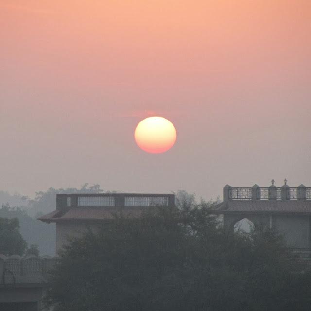 Sunrise, Mahansar, Shekhawati