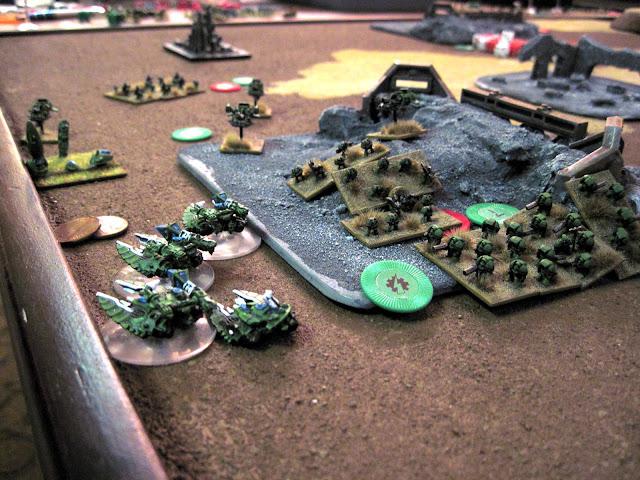 The Fight for the Eldar Blitz
