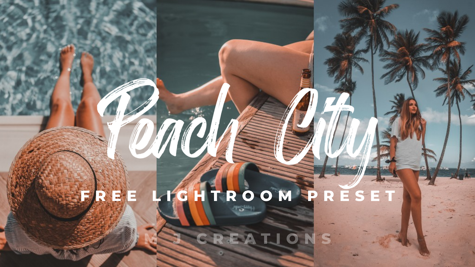 Peach City - Lightroom Mobile Preset - Free Lightroom Presets