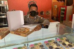 Anggota Polresta Sidoarjo Geluti Wirausaha Kuliner Bikin Donat