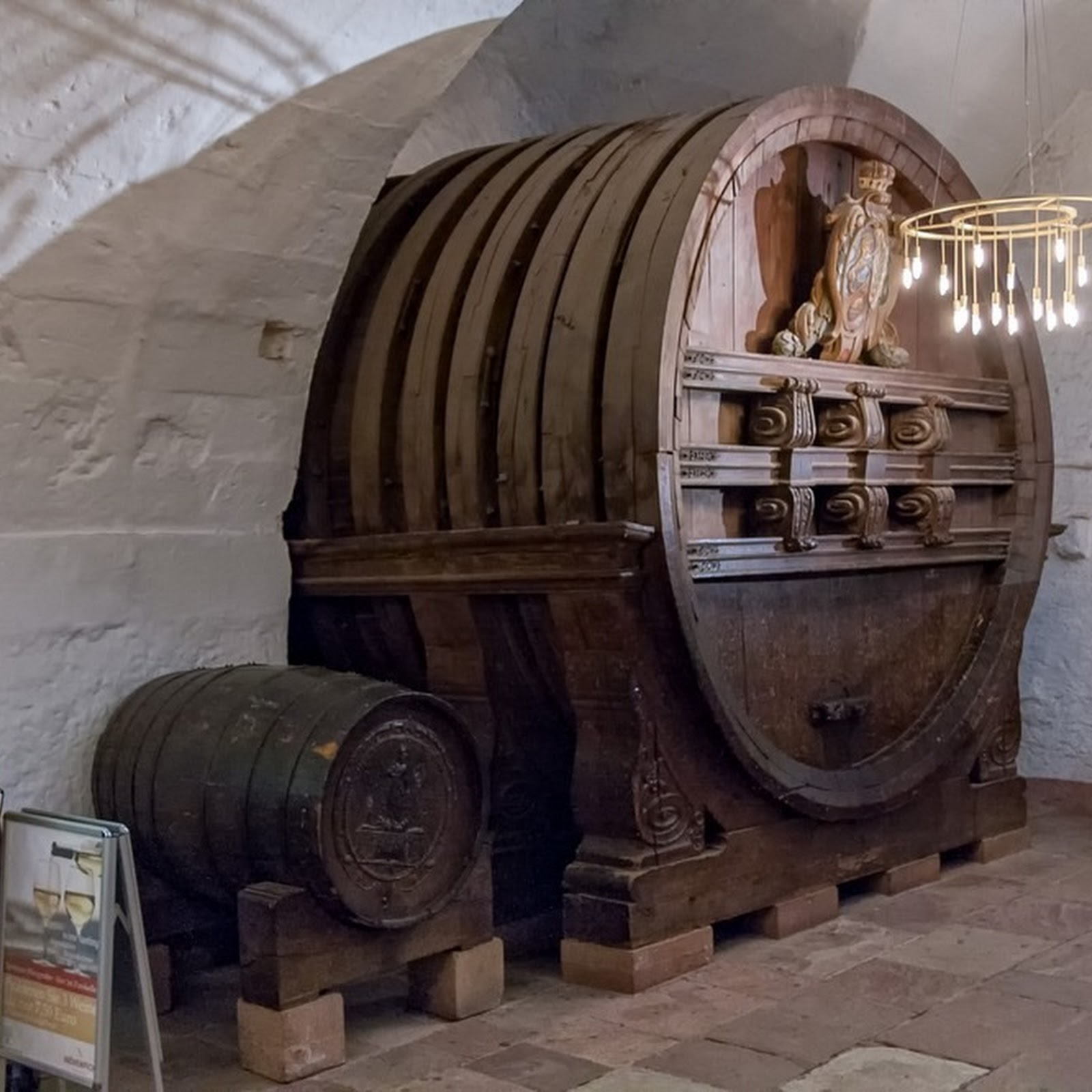 The Gigantic Wine Barrel of Heidelberg