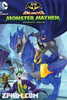 Người Dơi: Quái Vật Nổi Loạn - Batman Unlimited: Monster Mayhem (2015) Poster