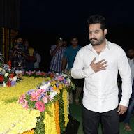 JR NTR at NTR Ghat