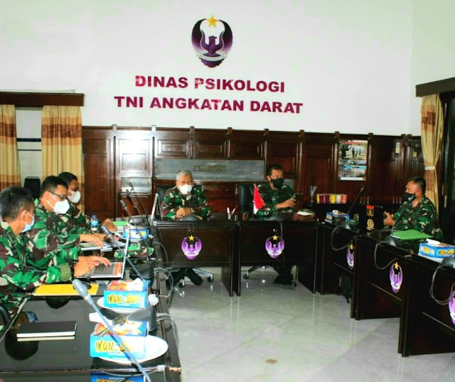 Kadislitbangad Gelar Asnik  Litbanghan TNI AD di Dispsiad