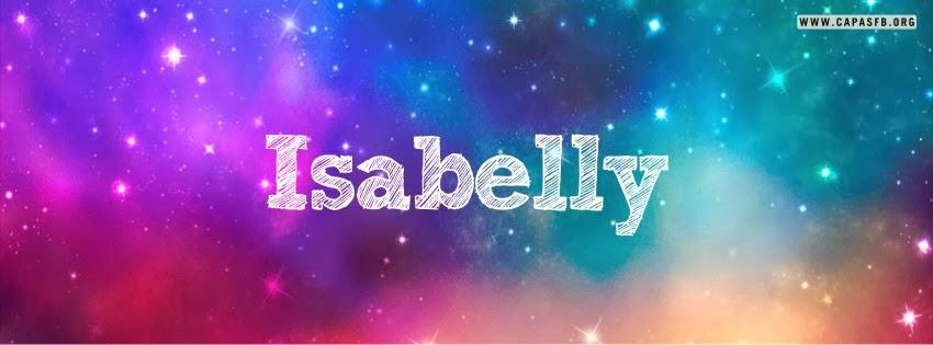 Capas para Facebook Isabelly