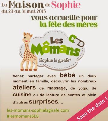 Les Mômans Sophie la Girafe