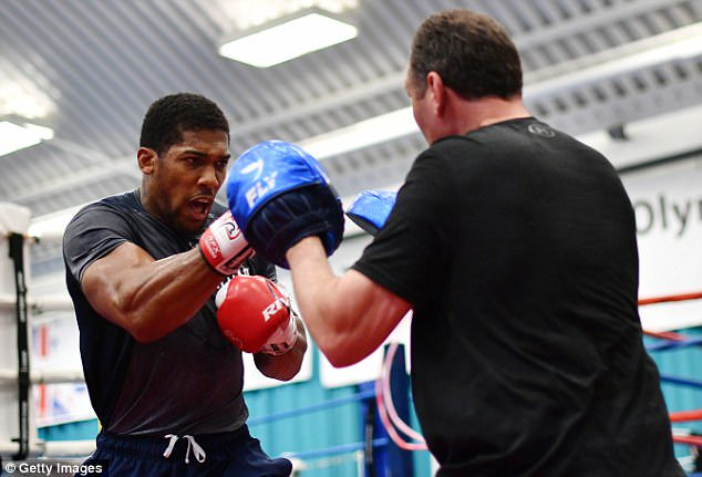 Anthony Joshua Afraid Of Fighting Deontay Wilder – Promoter Reveals