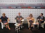 """Conferenza Stampa """"Reason Wine"""", 4 settembre 2011 - Lido di venezia, Rosa Bianco Finocchiaro, Claudio Galletti, Laura Delli Colli e Michele Pisante"""