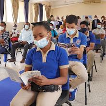 Ministerio Educación abre Punto de Lectura en el liceo Benito Juárez de Cristo Rey