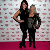 WWW.ENTSIMAGES.COM -      Lizzie Cundy and Sam Fox   at     The Dream Idols,hosts (Thomas) and take part in celebration of online bingo site Wink Bingo's partnership with male glamour group, Dream Idols.Angels Club, Wardour Street, London, March 18th 2013                                                Photo Mobis Photos/OIC 0203 174 1069