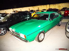 Green Ford Capri Mk2