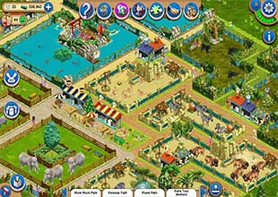 لعبة حديقة الحيوانات