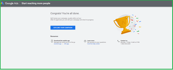 How to start your ad campaign on Google AdWords