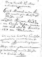 Ham, Gerrit Meertens en Hermens, Lijsbet Huwelijk 16-01-1697.jpg