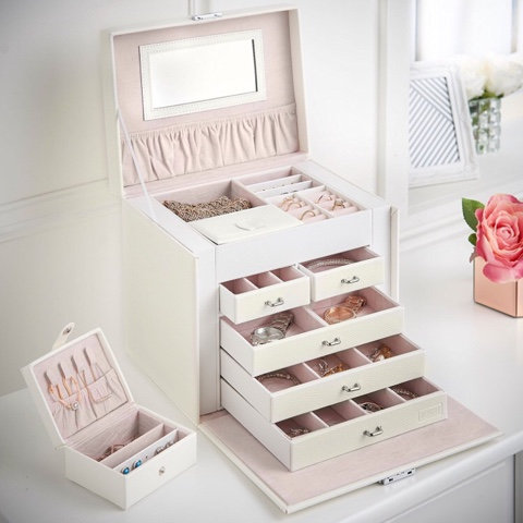 Beautify Worldwide jewelry and makeup storage dressing table
