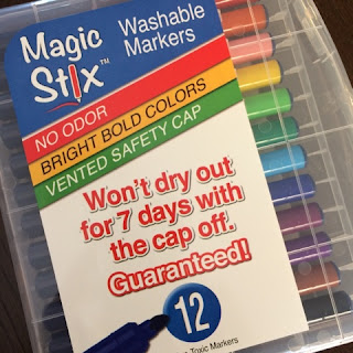 Magic Stix: markers that won't dry out